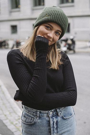 Ebo Knit Top Black