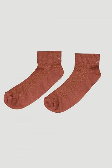 Hanger Short Sock Terracotta