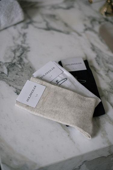 Hanger Plain Sock Sand