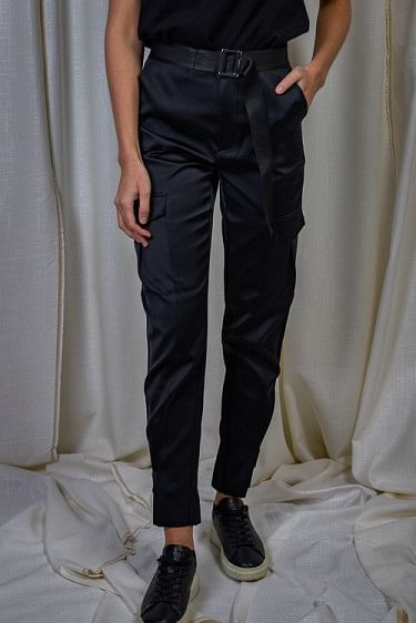 Skunk Trousers Black