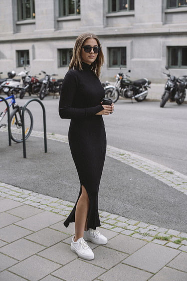 Noritt Knit Dress Black