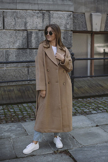 Preike Coat Camel