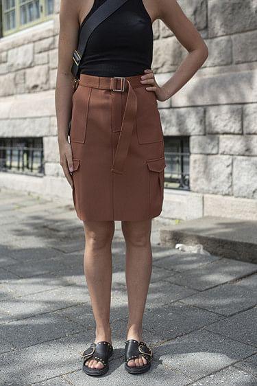 Stranda Skirt Terracotta