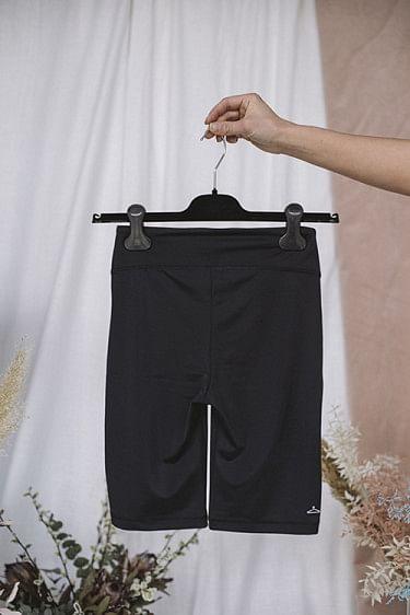 Turtle Black Shorts
