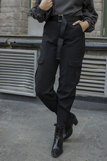 Skunk Trousers Black