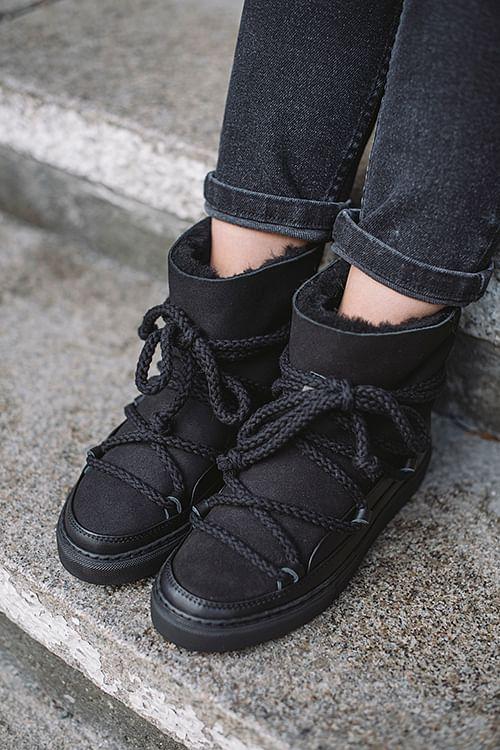 Inuikii Inuikii Sneaker Classic Black vintersko
