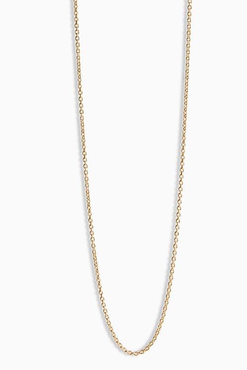 Anchor Chain 50cm Gold