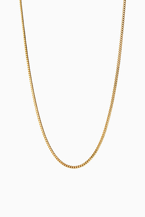 Jane Konig Curb Chain 40cm Gold halskjede
