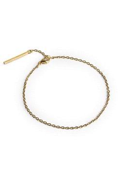 Ankerkjede-armbånd Gold
