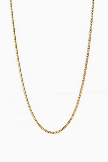 Curb Chain Gold 55cm