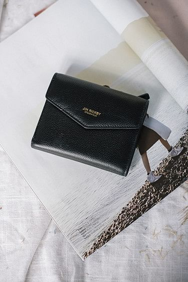 Envelope Wallet Black