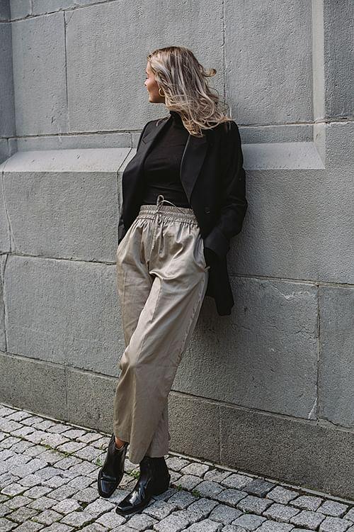 Joseph Dahlman Refined Cotton Pants Quartz bukse culotte