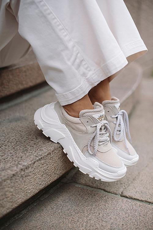 LÄST Sprint Sneakers Beige sko