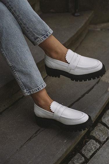 Matter Loafer White