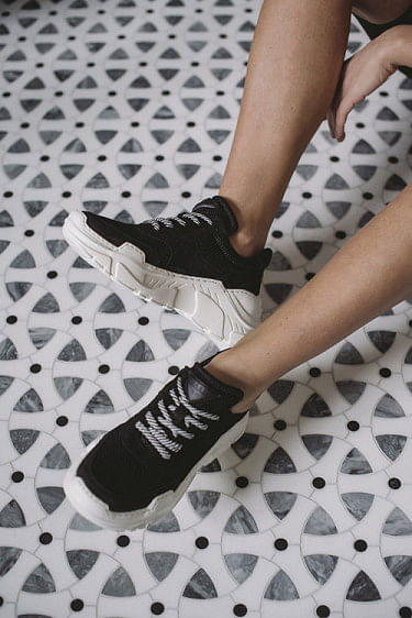 Sprint Mesh Sneakers Black