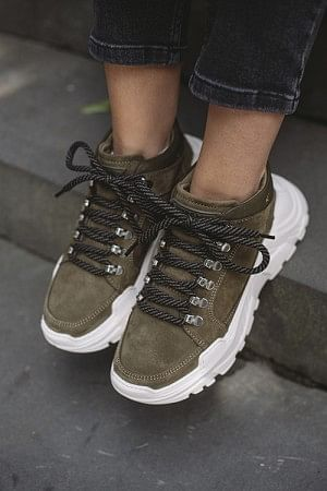 Trance Suede Olive