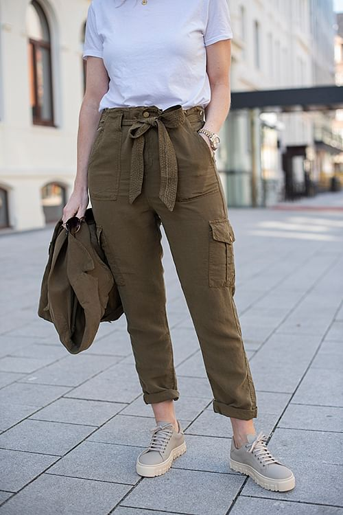 Lois Pandora C Vesuvio Pants Bronze bukse