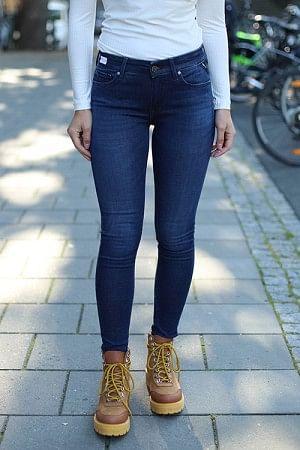 New Luz Jeans Mellomblå