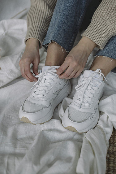 Flow Sneakers White Grey