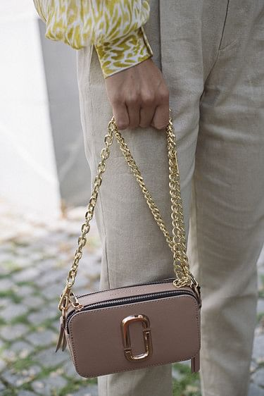 Chain Shoulder Strap Gold
