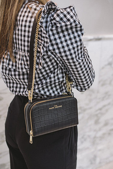 The Crossbody Croc Black