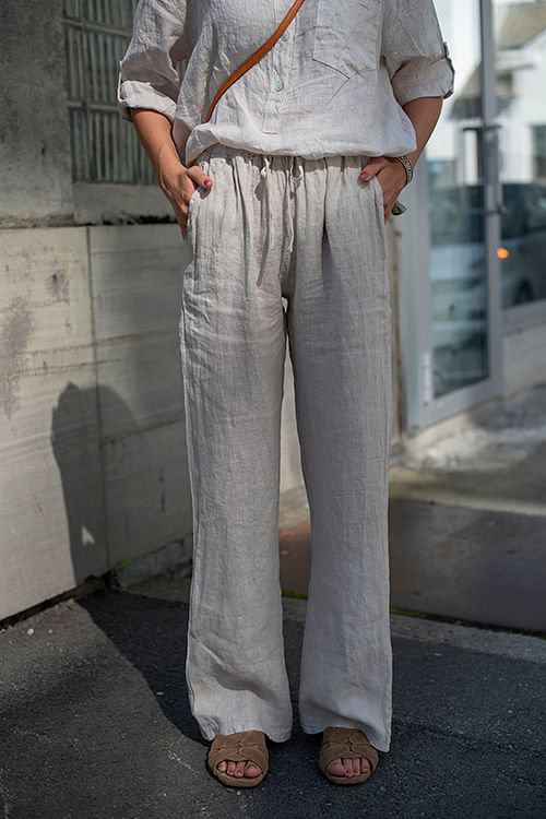 Necter Julien Pants Beige bukse