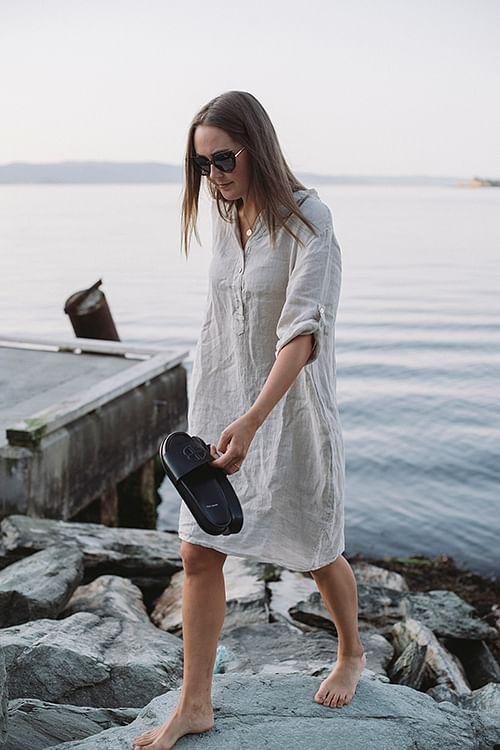 Nora Dress Beige