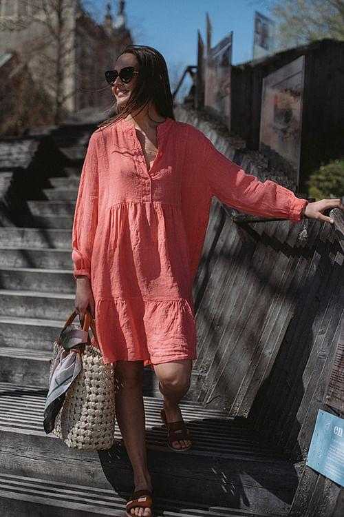 Sara Dress Coral