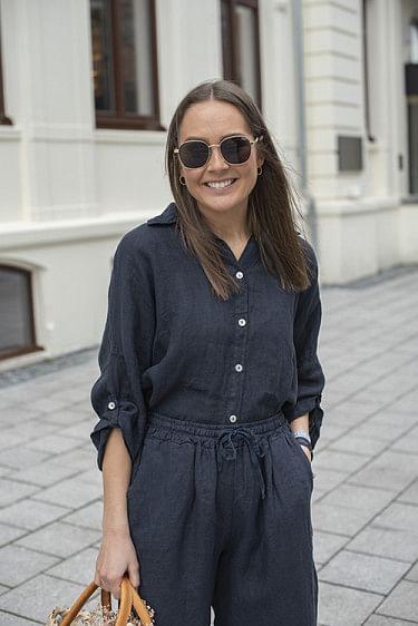 Julie Shirt Navy