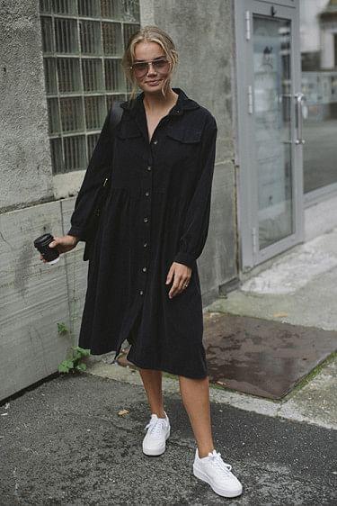 Maja Cord Black