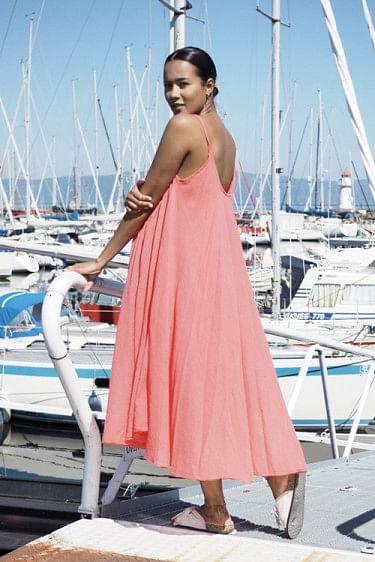 Manuela Dress Coral