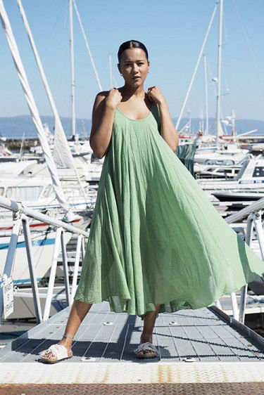 Manuela Dress Green
