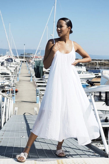 Manuela Dress White