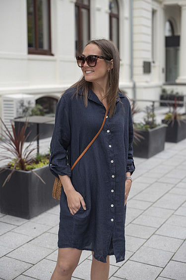 Thale Dress Navy