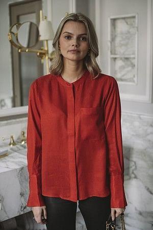 Harper Shirt Red