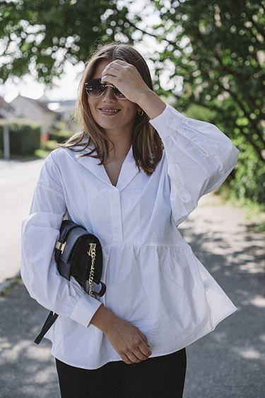 Henne Shirt White