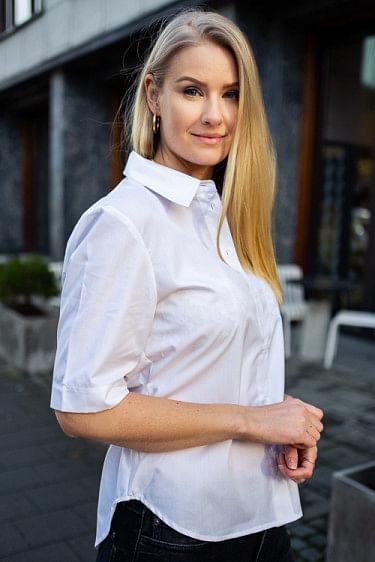 Jenna Shirt White