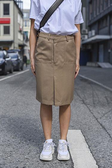 Miller Skirt Khaki