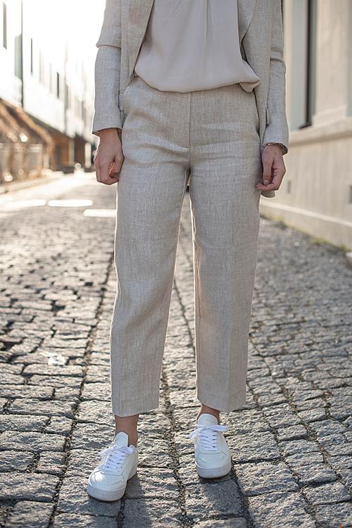 one&other marina pant sahara bukse beige