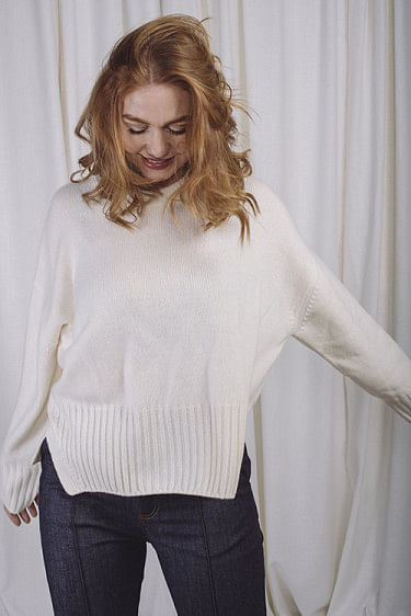 Pepper Sweater Off White