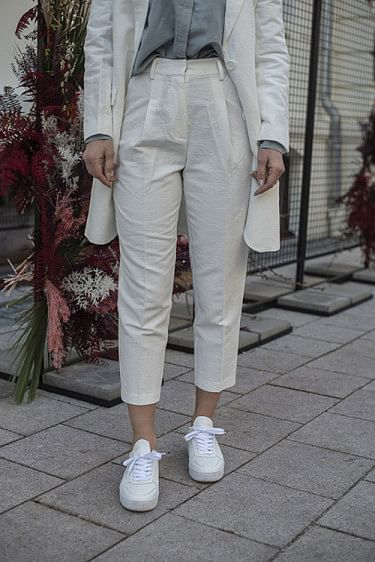 Tale Pant Off White
