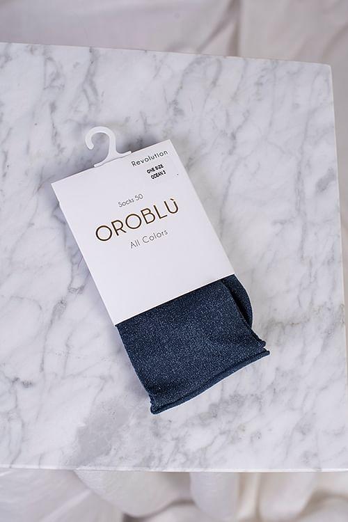 Oroblu Revolution 50 Sock Ocean strømper