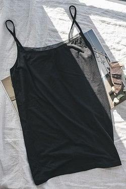 Perfect Line w/Straps Black