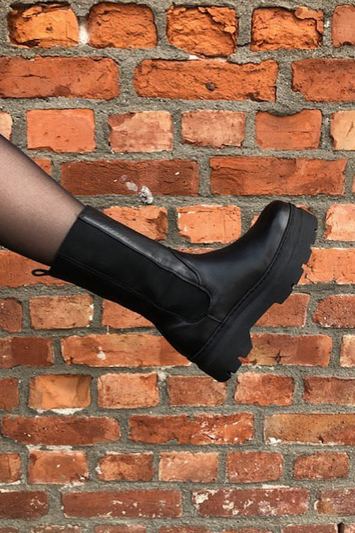 Aya Boots Black