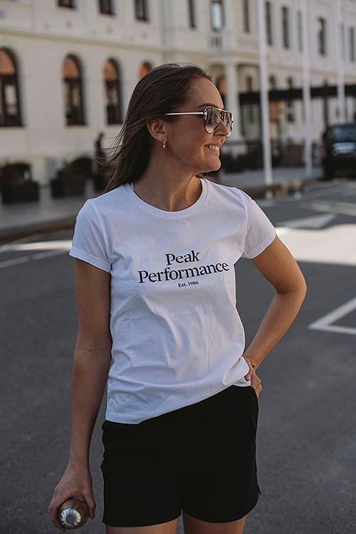 Peak Performance Original Tee 1986 White t-skjorte
