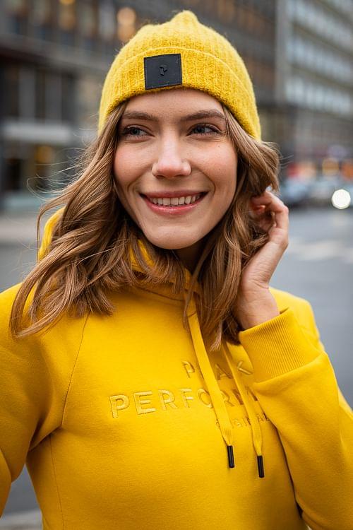 Peak Performance Laine Hat Yellow Flow lue