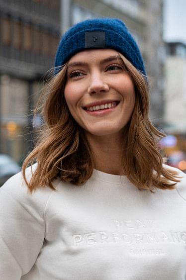 Laine Hat Salute Blue