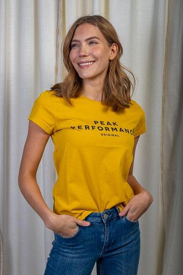 Original Tee Yellow Flow