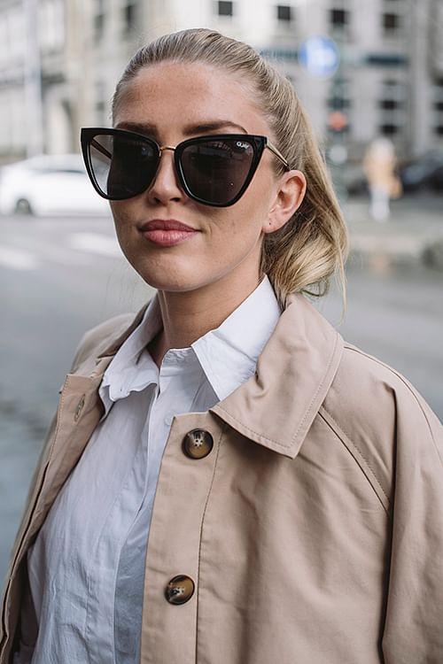 QUAY Reina Black solbriller
