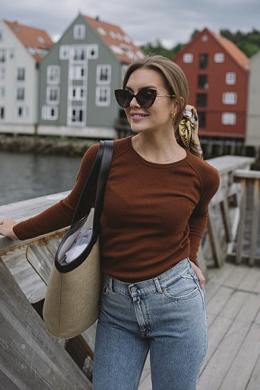 Laica Pullover Amber Brown